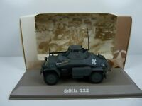 BL26H atlas IXO 1/43 Blindés WW2 : SdKfz 222 automitrailleuse Leichter panzer