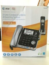 AT&T TL86109 2-Line Corded And Cordless With Bluetooth