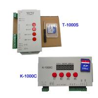 K-1000C /T-1000S controller K1000C WS2812B,WS2811,APA102,T1000S WS2813 LED 2048