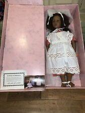 Annette Himstedt 3809 Barefoot Children Fatou 26� Puppen Kinder Girl Doll Coa