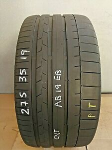 275 35 19 100Y XL CONTINENTAL SPORTCONTACT 6  *5MM*  (PRESSURE TESTED)