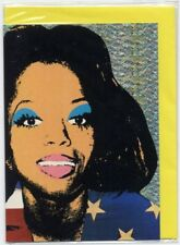 Diana Ross Warhol 'You are everything' Greetings card w/envelope sealed 1997