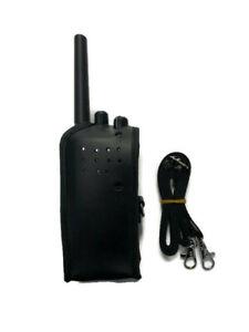 Leather Case & Strap for 2 Way Radio / Walkie Talkie ***BUY 10 get 1 FREE!!***