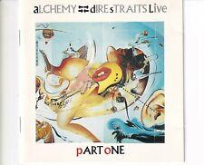 CD DIRE STRAITSalchemy live PART ONEGERMAN EX  (B5560)
