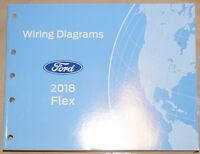 2018 Ford Flex EVTM Factory Electrical Wiring Diagrams Service Manual