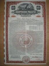 Specimen: Northern Pacific Railway  Company  1000$ Bond