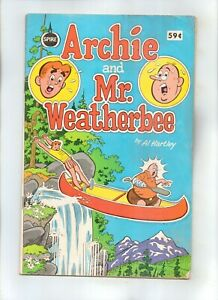 SPIRE CHRISTIAN COMIC --ARCHIE AND MR. WEATHERBEE by Al Hartley