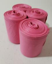 Doggie Walk waste poo bags, 48 count Pink
