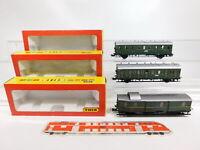 CG25-1# 3x Trix Int. H0/DC Personenwagen etc DRG: 3758 + 3759 + 3760, NEUW+OVP