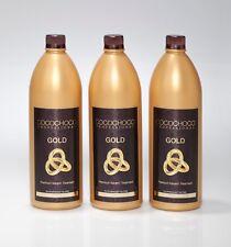 COCOCHOCO Gold 3*1000ml mit flüssigem 24k Gold – neue und verbesserte Rezeptur