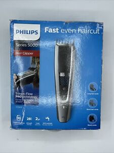 Y145 Philips Series 5000 Trim-n-Flow PRO Technology Rechargeable, Hair Clipper