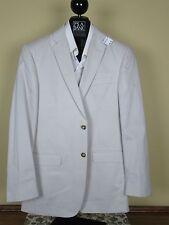 $495 New Jos A Bank JOSEPH solid Stone Slim fit cotton suit 40 R 34 W