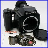 PENTAX 645 reflex camera macchina fotografica vintage 120mm film