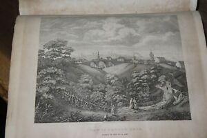 1827 ACCOUNT OF NEWCASTLE UPON TYNE & GATESHEAD by MACKENZIE 2 VOLs 17 PLATES *