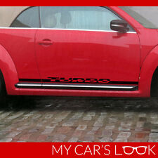 Volkswagen Beetle turbo - turbo seitenstreifen aufkleber grafik