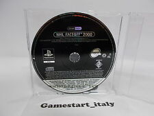 NHL FACEOFF 2000 SCES-02451 (SONY PS1) PROMO VERSION - PAL VERSION