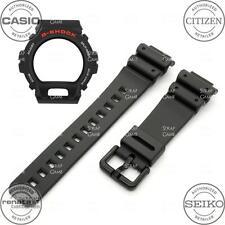 CASIO Genuine Band & Bezel Combo Set G-SHOCK DW6900 DW-6900 DW6600 DW-6600 Black