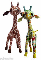 Gemini giraffe soft toy sewing pattern by pcbangles.