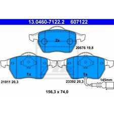 ATE Bremsbeläge 13.0460-7122.2 Bremsklötze Skoda Octavia I Combi 1U5