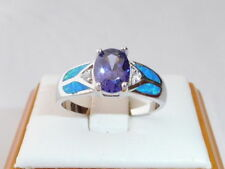 Handmade Tanzanite Anniversary Fine Rings