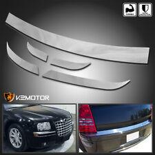 For 2005 2010 Chrysler 300 Frontrear Chrome Bumper Trim Fits Chrysler 300
