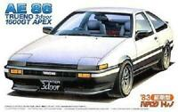 Fujimi 1/24 Scale TOYOTA AE86 TRUENO early model '83 Plastic Model Kit ID52