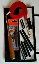 Schaff Professional Quality Piano Tuning Kit 16 Piece Hammer Mutes Tuning Fork