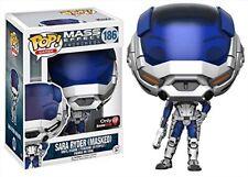 Pop! Games Mass Effect Andromeda Sara Ryder Masked #186 Vinyl Figure Funko Jc