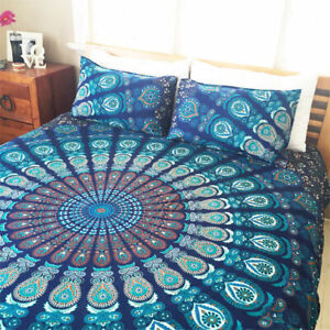 Indian Hippie Bohemian Bedding Bedspread Coverlet Bedsheet Decor Tapestry Throw