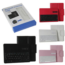 Wireless Bluetooth Keyboard Leather Case For Samsung Galaxy Tab 4 3 A E S S2 S3