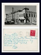 MONTANA HAVRE FIRST ST REAL PHOTO 31 AUGUST, 1952 TO FRANCES MARCELLUS ALBION NY