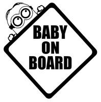 Baby on board, Bebé a bordo, minion sticker pegatina, vinyl, vinilo 18 colores