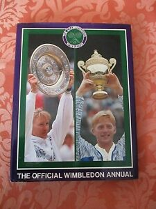 THE OFFICIAL WIMBLEDON ANNUAL 1989 PHOTO'  ILLUSTRATED  HARDBACK BOOK