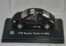 CARARAMA / HONGWELL  - VW / VOLKSWAGEN - NEW BEETLE TURBO S - BLACK - 1:72 SCALE