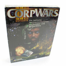 Corpwars for IBM PC CD-ROM in Big Box by Sierra On-Line, 1998, BNIB, Sealed