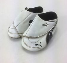 PUMA Infant Boys Size 4 Sneakers Shoes White Black
