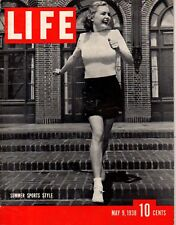 1938 Life May 9 - Fascism in Italy; Seabiscuit; China war; Dizzy Dean; Ginger Ro