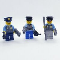 LEGO COPS Police Squad MINIFIG LOT minifigures figures city town people