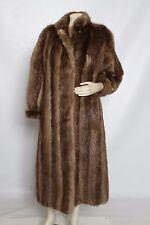 Yves Saint Laurent Beaver FUR Coat sz XL Originally $20,000+ NORDSTROM MINT