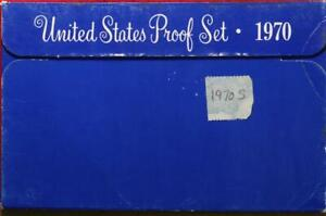 Uncirculated 1970 United States Proof Set