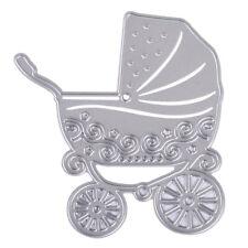 Baby Carriage Stroller Cutting Dies Stencil DIY Scrapbook Embossing Craft Card