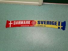 Danmark V Sverige Football Supporters Scarf