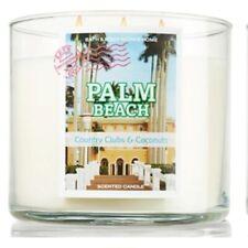 BATH & BODY WORKS PALM BEACH 3-WICK SCENTED CANDLE 14.5 oz NEW!