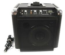 Ion Tailgater 50w Dock AM/FM Radio Portable Amplifier Amp