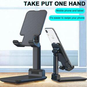 Adjustable Portable Desktop Stand Desk ABS Phone Holder For Tablet/iPad/iPhone