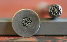 SUPPLY GUY 5mm Flower Metal Punch Design Stamp SGT-39, Made in the USA