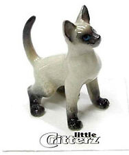➸ LITTLE CRITTERZ Cat Miniature Figurine Siamese Cat Kitten Blaze