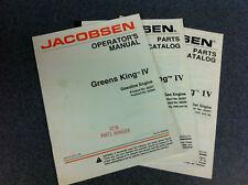 Jacobsen GKIV GK4 Greens King Greensking 4 Parts Manual