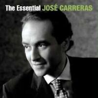 """JOSE CARRERAS """"THE ESSENTIAL (BEST OF)"""" 2 CD NEW+"""