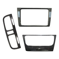Center Console Control Panel Cover Trim Frame Set Fit For VW Golf GTI 6 MK6